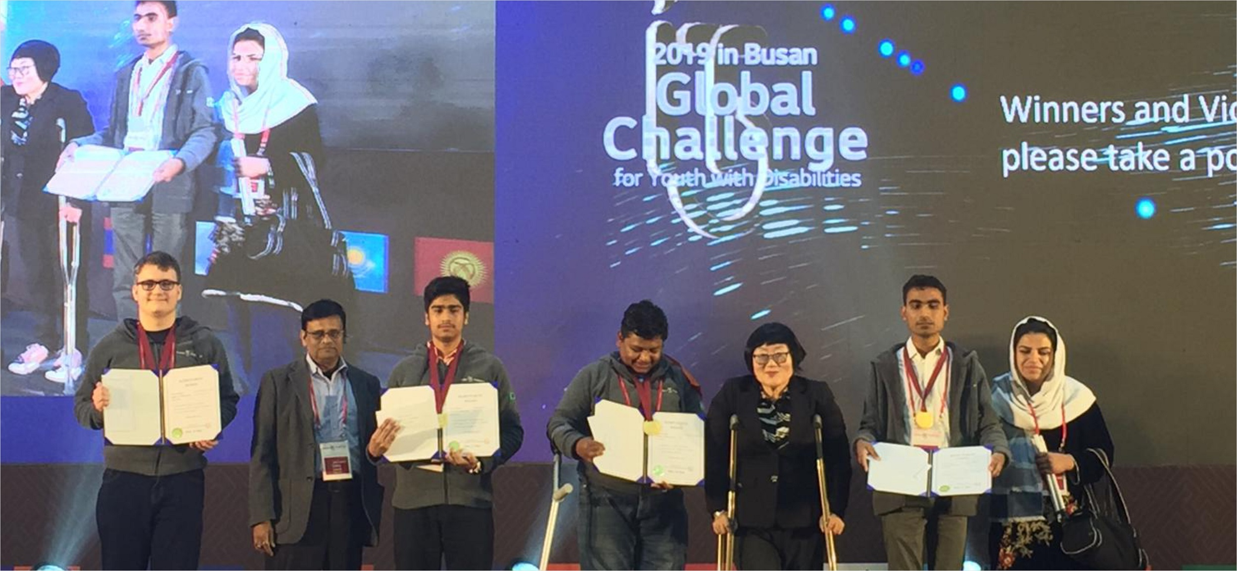 Empowering youth with disabilities show their talent globally